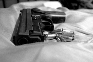 black and white gun 1409524 m